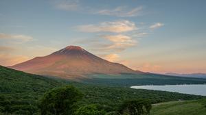 Japan Mountain Sky Landscape Mount Fuji Forest Nature 4928x3280 Wallpaper