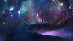 Shahab Alizadeh Nebula Sky Space Digital 1600x960 Wallpaper
