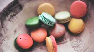 Chocolate Dessert Macaron Sweets 2048x1357 Wallpaper