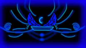 Abstract Blue Digital Art Lines 2048x1152 Wallpaper