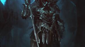 Vladimir Matyukhin Knight Dark Artwork Fantasy Art 1186x1440 Wallpaper