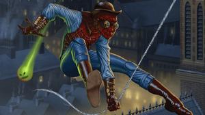 Marvel Comics Spider Man Steampunk 3000x1687 Wallpaper