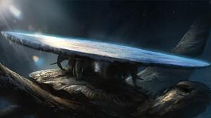Artwork Fantasy Art Turtle Earth Discworld 1920x1032 Wallpaper