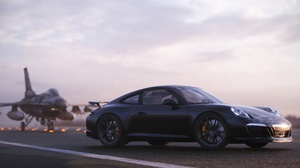 Porsche 911 Porsche Car Sport Car Black Car 2560x1227 Wallpaper
