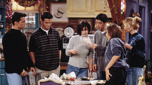 Chandler Bing Courteney Cox David Schwimmer Friends Tv Show Jennifer Aniston Joey Tribbiani Lisa Kud 2000x1355 Wallpaper