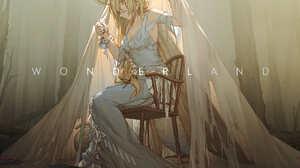 Anime Anime Girls Miv4t Blonde Long Hair Dress Monster Girl 1700x2240 Wallpaper