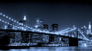Brooklyn Bridge Manhattan New York 5760x1200 Wallpaper