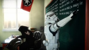 School Star Wars Stormtrooper 1920x1080 Wallpaper