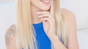Women Blonde Long Hair Indoors Women Indoors Tattoo 1333x2000 Wallpaper