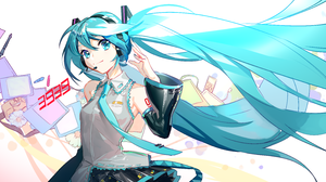 Hatsune Miku 5940x3240 wallpaper