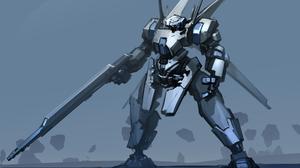 Giant Robot Weapon 3000x2000 Wallpaper