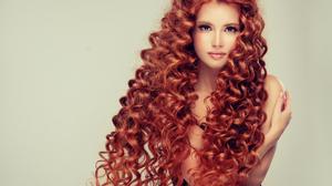 Curl Girl Hair Long Hair Redhead Woman 3672x2394 wallpaper