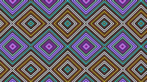 Colorful Digital Art Geometry Pattern Shapes 1920x1200 Wallpaper