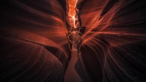 Antelope Canyon Canyon Nature Rock 2048x1365 Wallpaper