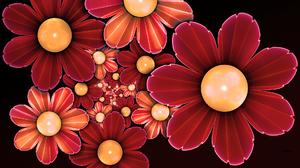 Artistic Flower 1920x1080 Wallpaper