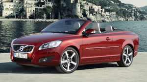 Compact Car Convertible Luxury Car Red Car Volvo C70 1920x1080 Wallpaper