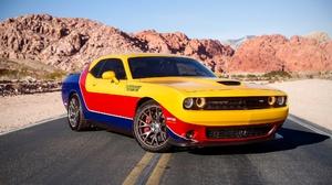 Car Dodge Dodge Challenger Muscle Car Vehicle 2048x1152 wallpaper