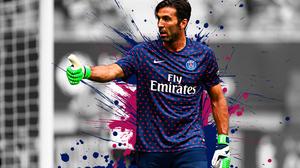 Gianluigi Buffon Italian Paris Saint Germain F C Soccer 3840x2400 Wallpaper