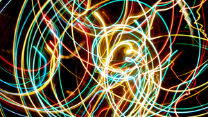 Camera Toss Kinetic Artistic Photography Swirl Abstract Light Colors Colorful Light Trails 3072x2048 wallpaper