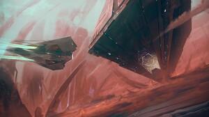 Sci Fi Spaceship 2560x1441 wallpaper