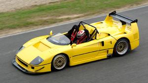 Ferrari F40 LM Barchetta Race Car Supercar Sport Car Yellow Car 1600x1200 Wallpaper