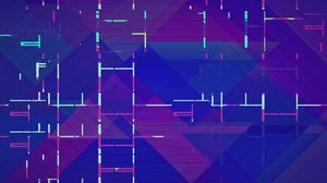 Digital Art Geometry Lines 1920x1080 Wallpaper