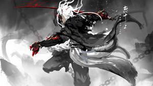 Artwork Sword Katana 1800x1071 Wallpaper