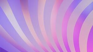 Abstract Digital Art Geometry Gradient Pastel Stripes 1920x1080 Wallpaper