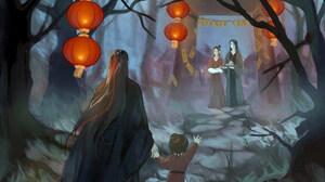Wen Ning Wen Qing Wei Ying Wei Wuxian Lan Sizhui 2048x1369 Wallpaper