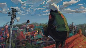 Anime Naruto Anime Hatake Kakashi Huimuuu 2048x1152 Wallpaper