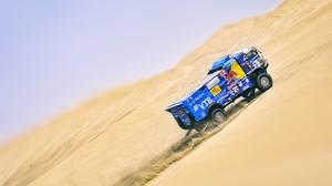 Desert Dune Rallying Sand Truck Vehicle 4250x2550 Wallpaper