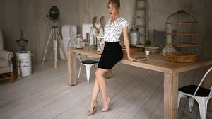 Model Skirt Woman Girl 1920x1200 wallpaper