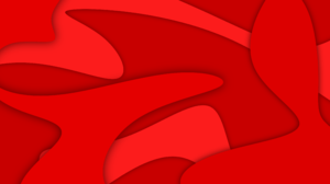 Red Abstract Swirls Shapes Red Background 3840x2160 Wallpaper