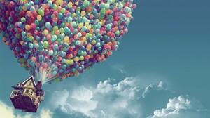 Balloon Up Movie 1920x1200 Wallpaper