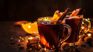 Christmas Drink Cinnamon Glass 2000x1333 Wallpaper