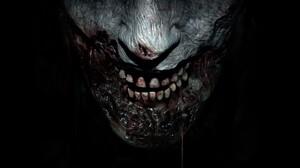 Blood Dark Resident Evil 2 2019 Scary Teeth Video Game Zombie 3840x2160 Wallpaper