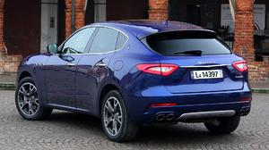 Blue Car Car Crossover Car Luxury Car Maserati Levante Suv 1920x1080 Wallpaper