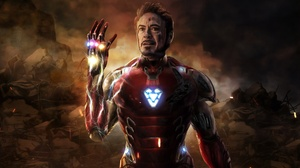 Avengers Endgame Iron Man Marvel Comics Tony Stark 5184x4428 wallpaper