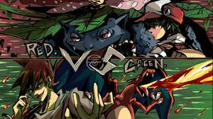 Charizard Pokemon Green Pokemon Red Pokemon Venusaur Pokemon 3200x1796 Wallpaper