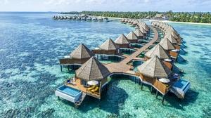 Building Holiday Resort Tropical 2000x1333 wallpaper