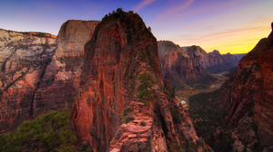 Canyon Earth Rock Utah Zion National Park 2000x1325 Wallpaper