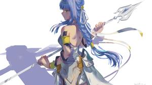 Dungeon Ni Deai Wo Motomeru No Wa Machigatteiru Darou Ka From Behind Anime Girls Bare Shoulders Shea 5452x3282 Wallpaper