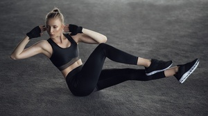 Fitness Girl Woman 7408x4167 Wallpaper