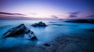 Nature Rock Horizon Sky Blue 4896x3264 wallpaper