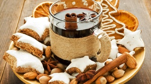 Cinnamon Cookie Drink Gingerbread 3072x2304 Wallpaper