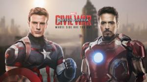 Iron Man Tony Stark Captain America Captain America Civil War Civil War Comics Steve Rogers Robert D 1920x1080 Wallpaper