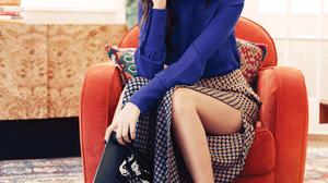 Victoria Justice Women Actress Singer Long Hair Brunette Latinas Legs Sitting Wedge Heels 1506x1800 Wallpaper