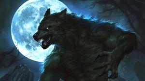 Creature Moon Werewolf 1920x1200 Wallpaper