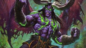 Digital Art Artwork Video Games Warcraft Hearthstone World Of Warcraft Illidan Illidan Stormrage Ill 6880x9600 Wallpaper
