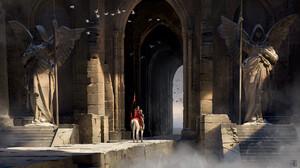 Artwork Digital Art Fantasy Art Knight 1920x1080 Wallpaper